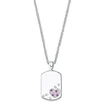 Prinzessin Lillifee Kinder Kids Halskette Silber Herz Gravurplatte 2027206