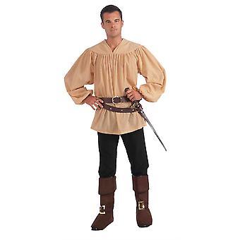 中世のシャツ。