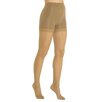 Solidea Micromassage Magic 140 Sheer Anti Cellulite collants de soutien [Style 127A4] L Camel (Sandy Beige)