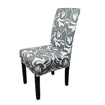 FP5 - Floral Printed Short Spandex Chair Cover
