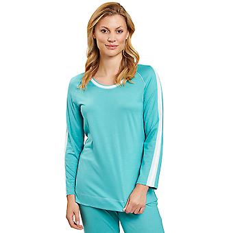 Rösch 1203208-15640 Damen's Pure Spearmint Blue Loungewear Top