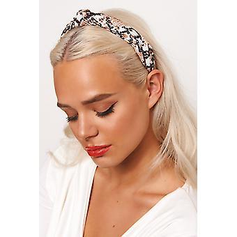 Slangenhuid hoofdband