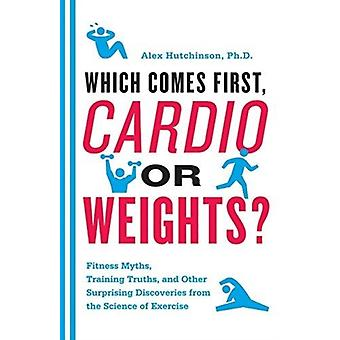 Which Comes First Cardio or Weights by Hutchinson & Alex