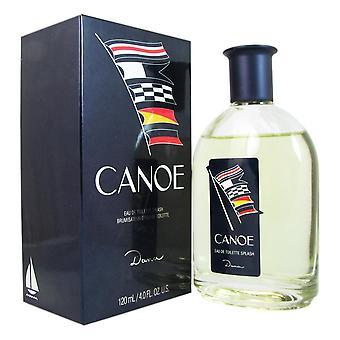 Canoe for men by dana 4.0 oz eau de toilette splash