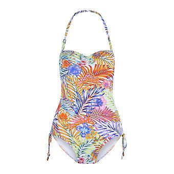LingaDore 5111SS-204 Women's Bossa Multicoloured Floral Print Swimsuit