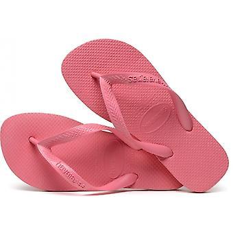 Havaianas Hav Top Ladies Flip Flops Porcelain Pink