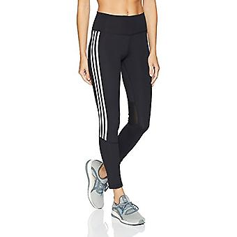 adidas Women's Training Believe This 7/8 Tights,, Black/White, Size Large