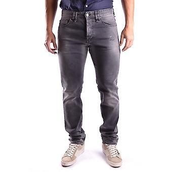 John Galliano Ezbc164063 Men's Grey Cotton Jeans