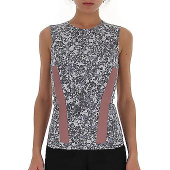 Adidas by Stella Mccartney Ea2135 Damen's Grau Polyester Top