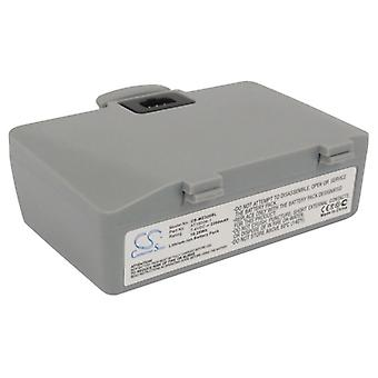 Batteri til Zebra AT16004-1 H16004-LI QL220 Plus QL220+ QL320 QL320+ 2200mAh