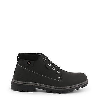 Carrera Jeans Originele Heren Herfst/Winter enkellaars - Zwarte Kleur 35978