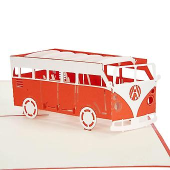 Cardology Campervan Pop Up Card