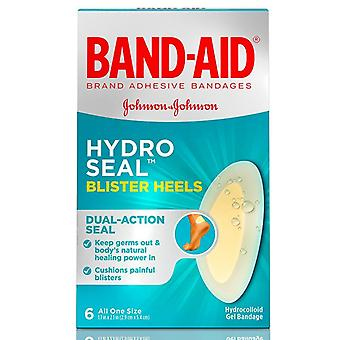 Band-Aid hydro forsegle, blemme hæler, 6 ea