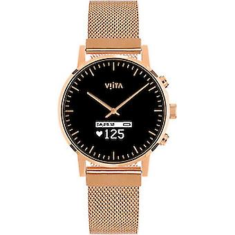Viita Smartwatch - Hybrid HRV Classic rosé - rosé Mesh - FC32S7033