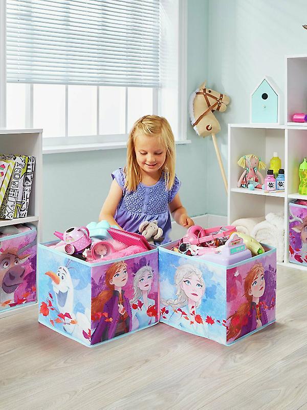 Boîtes de stockage Disney Frozen Cube
