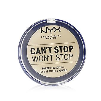 NYX Can't Stop Won't Stop Powder Foundation - # Pale 10.7g/0.37oz