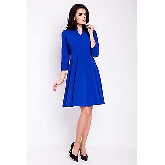 Blåklint blå oändlig du klänningar