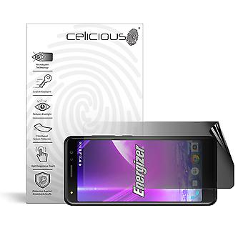 Celicious Privacy 2-Way Landscape Anti-Spy Filter Screen Protector Film Compatible with Energizer Power Max P490