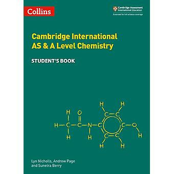 Cambridge International AS  A Level Chemistry Students Boo