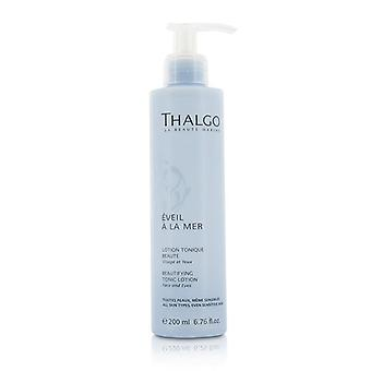 Thalgo Eveil A La Mer Beautifying Tonic Lotion (face & Eyes) - For All Skin Types Even Sensitive Skin - 200ml/6.76oz