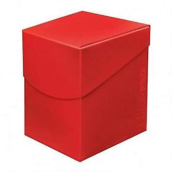Ultra Pro 85686 Eclipse pro 100 + caixa de deck-Apple Red