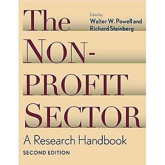 The Nonprofit Sector - A Research Handbook by Richard Steinberg - 9780