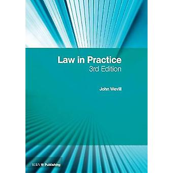 Law in Practice - The RIBA Legal Handbook by John Wevill - 97818594667