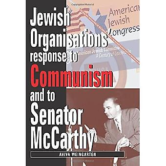 Jewish Organizations Response to Communism and to Senator McCarthy