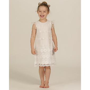 The Essential One Girls Special Occasion Capped Sleeve A-line Dress