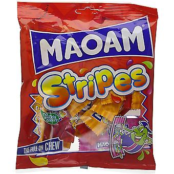MaoaM Stripes 1.7kg, bulk sweets, 12 packs of 140g