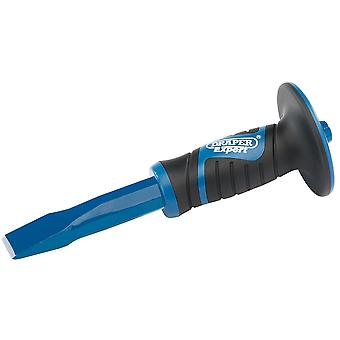 Draper 51024 Expert 25 x 300mm Hex Shank Cold Chisel with Soft Grip Hand Guard