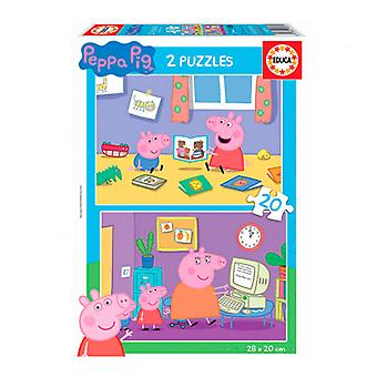 Puzzle Peppa Pig Educa (20 pcs)