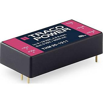 TracoPower THM 30-2421 DC/DC converter (print) 3000 mA 30 W No. of outputs: 2 x