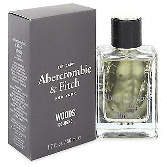 Spray Abercrombie & Fitch Woods Eau De Cologne di Abercrombie & Fitch 1.7 oz Eau De Cologne Spray