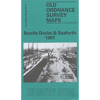 Bootle Docks and Seaforth 1907 - Lancashire Sheet 99.13 by Mike Greatb