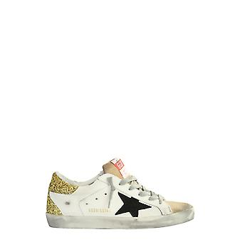 Golden Goose Gwf00102f00014580186 Women's White Leather Sneakers