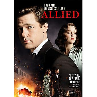 Allied [DVD] USA import
