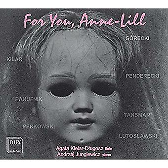 Gorecki / Dlugosz / Jungiewicz - For You Anne Lill [CD] USA import