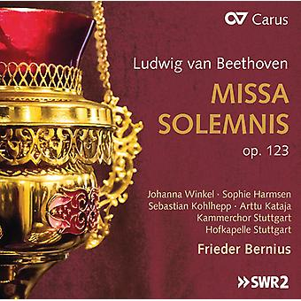 Missa Solemnis 123 [CD] USA import