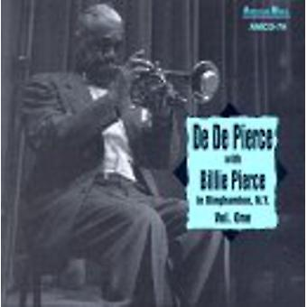 ビリー ピアス ・ デデ - ビリー ピアス ・ デデ: ピアス、ビリー ・ デデ: Vol. 1 - 米国ニューヨーク州ビンガムトン ジョソン [CD] インポートで