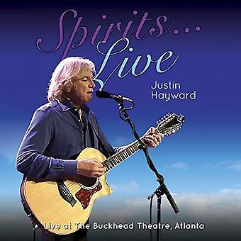 Justin Hayward - Spirits: Live-Live at the Buckhead Theater Atlan [CD] USA import