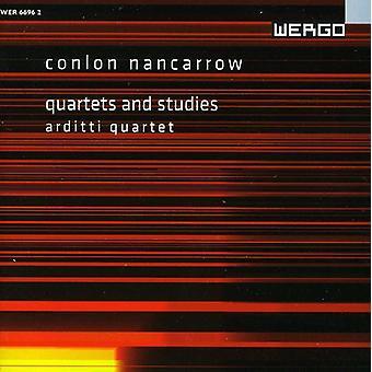 C. Nancarrow - Conlon Nancarrow: Quartets and Studies [CD] USA import