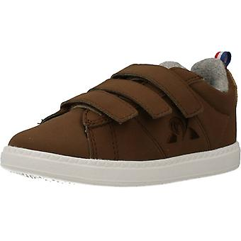 Le Coq Sportif Courtclassic Inf Hiver Color Brown Shoes