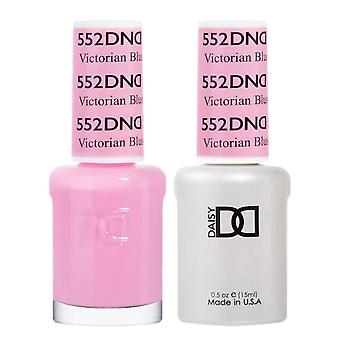 DND Duo Gel & Nail Polish Set - Victorian Blush 552 - 2x15ml