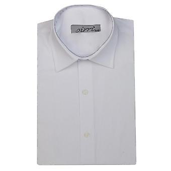 Boys Sirri Classic Long Sleeve White Shirt