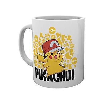 Pokémon, Mugg - Pikachu Ash Hat
