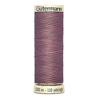 Gutermann Ommella kaikki 100 % Polyesteri Thread 100m käsi ja kone värikoodi - 52