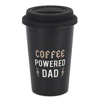 Iets anders koffie aangedreven papa Travel Cup