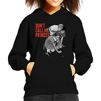 The Saturday Evening Post Dont Call Me Princess Kid's Hooded Sweatshirt