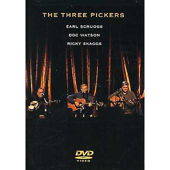 Scruggs/Watson/Skaggs - drei Pickers [DVD] USA import